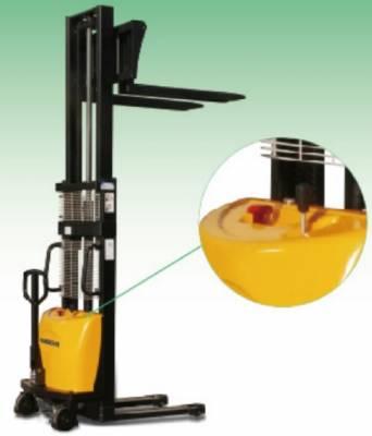 Apilador Semi-Eléctrico BDA. Disponibilidad 1.000 y 1.500 kg.