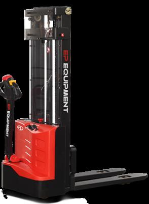 Apilador Traccionario ES10-E12 Económico Carga 1000 y 1200kg. Altura hasta 3,8m.
