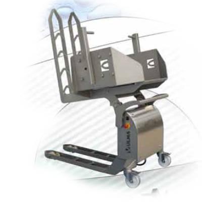 91. Volcador Electromanual Inoxidable. ULMA EBT10/EBT10i